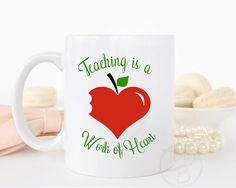 Personalized Teacher Gifts / Teacher Appreciation Gift / Personalized Teacher Mug / Personalized Gifts / Gift for Teacher by Pixidustboutique on Etsy