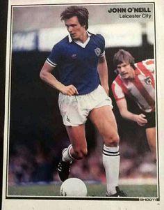 John O'Neill of Leicester City in Leicester, 1980s, Football, City, Anos 80, Soccer, American Football, Soccer Ball, Futbol
