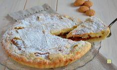 Crostata mascarpone e amaretti Torte Cake, Savarin, Sweet Pie, Sweet Cakes, Biscotti, Finger Food, Cheesecakes, Just Desserts, Tiramisu