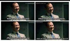 Smug Mycroft
