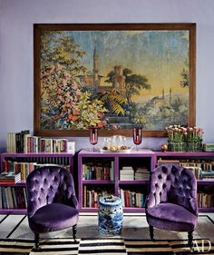 Purple eclectic