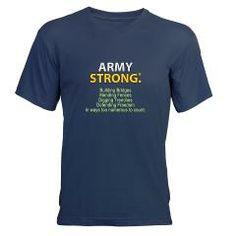 U.S. Army Building Bridges Men's V-Neck T-Shirt