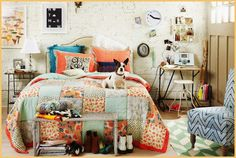 Love the quilt and overall happy vibe here x