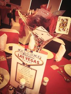 Las Vegas theme wedding
