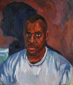Portraits, Artist, Painting, Head Shots, Artists, Painting Art, Paintings, Portrait Photography, Painted Canvas