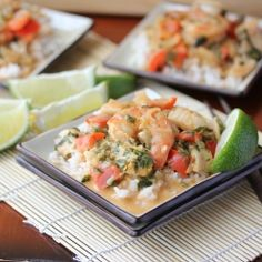 Thai Shrimp Halibut Curry by lisasdinnertimedish