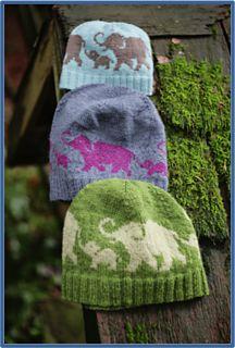 Rose & Lily hat by Lenka Ilcisin & Emily Williams. Ravelry link.