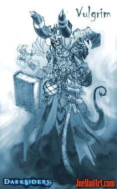 Darksiders Vulgrim concept art