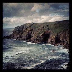 Zawn Reeth Nanjizal Bay Cornwall, Landscape, Places, Water, Outdoor, Instagram, Gripe Water, Outdoors, Scenery