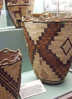 Multipurpose Native American Baskets from tribes of the Columbia Basin