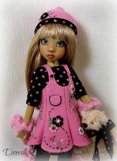 "Polka Dot Pixie for Kaye Wiggs ""illies"" | by Dress*Ups by pj"