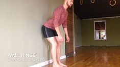 Exercise Wall Hinge - Why do the same old hip stretches if you aren't making progress? Fitness Workouts, Hip Workout, At Home Workouts, Fitness Tips, Health Fitness, Men Workouts, Fitness Games, Fitness Journal, Fitness Activities
