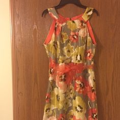 "Flower print summer dress ""Perceptions"" flower print Dress ,Very beautiful colors ,size 6 (small) Dresses"