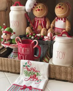 Full view of our whimsical Christmas family room. This year we added touches of elves has you have seen in previous posts. This topper was… Gingerbread Christmas Decor, Gingerbread Decorations, Decoration Christmas, Whimsical Christmas, Xmas Decorations, Gingerbread Men, Country Christmas, Family Christmas, All Things Christmas