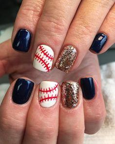 64 Best Baseball Nails Images In 2014 Baseball Nail Art Cardinals