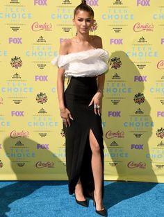 Zendaya no red carpet do Teen Choice Awards 2015.