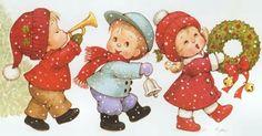 Desfile navideño - Ruth Morehead.