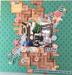 A layout created using Kaisercraft Paisley Days. Also completed for a challenge at Paper Issues (Friends and Fans) Scrapbook Page Layouts, My Scrapbook, April Challenge, Making Memories, Paisley, Card Making, Fans, Friends, Paper