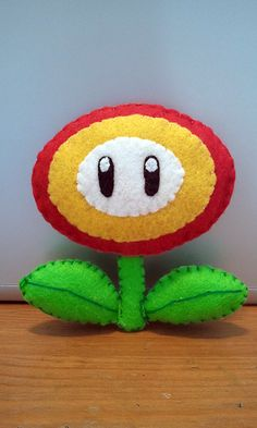 How to make a FireFlower Plush tutorial