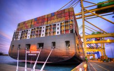 Télécharger fonds d'écran MSC Savona, 4k, d'un cargo, transport de fret, de navires porte-conteneurs, le port, le MSC