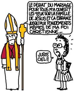 Benoît XVI démissionne et Christine Boutin en reste bouche bée http://undessinparjour.wordpress.com/2013/02/11/renuntiante/