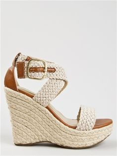 Bamboo LEANNE-35 Woven Espadrille Sandal - $31.00--not a big fan of wedges but I am loving these!!