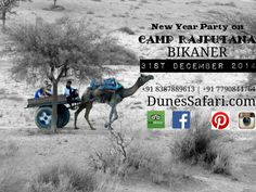 New year party on dunes of bikaner