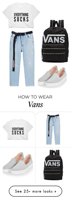 """""""Simple"""" by morentea on Polyvore featuring Topshop and Vans"""