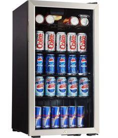 Small refrigerator glass door beverage cooler home bar game room mini fridge with lock for bedroom danby glass door dorm 120 can beverage cooler danby planetlyrics Gallery