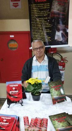 Otanir Vaz Pinto Projeto Autores & Livros no SESI Indaiatuba - 29/10/16 Otanir Vaz Pinto