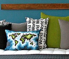 World Pillow cute!