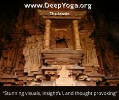 Don't miss your chance to see the sneak preview of Deep Yoga! Last viewing before it goes off to film festivals November 29th @ 7pm. Replay available.