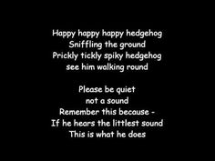 The Hedgehog Song - YouTube