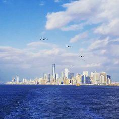 #statenisland #skyline #ferry #laststop  #newyork #ny #manhatten #newyorkcity #unitedstates #trump #usa #america #american #Amerika #instalandscape #lifegourmets #weltreise #niceview #aroundtheworld #niceplace #unitedstates #travel #traveling #vacation #visiting #instatravel #instagood #photooftheday