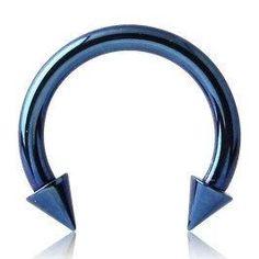 14g Titanium Circular Barbell w/ Cones