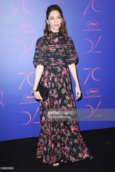 Sofia Coppola attends the 70th Anniversary Dinner during the 70th annual Cannes Film Festival at on May 23, 2017 in Cannes, France.