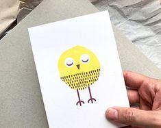 Delightful little birds designed to make you von TheKautziShop Little Birds, Little Things, Bird Design, Postcards, Make It Yourself, Vintage, How To Make, Craft Gifts, Schmuck