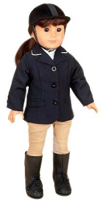 equestrian outfit for your american girl doll