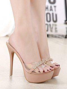 high heels – High Heels Daily Heels, stilettos and women's Shoes Sexy Legs And Heels, Hot High Heels, High Heels Stilettos, High Heel Boots, Womens High Heels, Stiletto Heels, Pumps, Transparent Heels, Pantyhose Heels