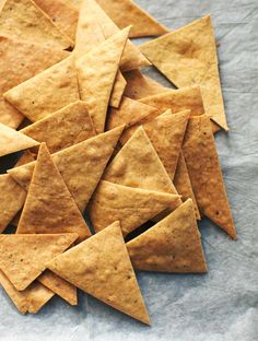 Chickpea Tortilla Chips // My New Roots