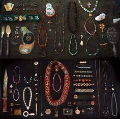 Erie Basin has the best collection of vintage jewlery...i need a good jewlery organizer...