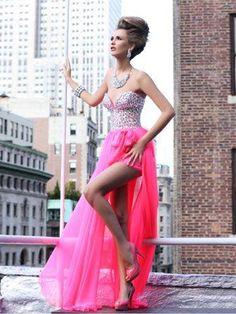 Tarik Ediz 92180 High Low Prom Dresses 5c4d884ed696