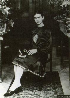 Frida a los 18 años