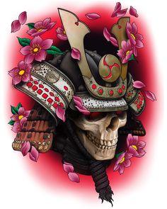 Samurai Helmet Carry-All Pouch by HoriAkuma - Small x Japan Tattoo Design, Sketch Tattoo Design, Japanese Tattoo Designs, Japanese Tattoo Art, Japanese Sleeve Tattoos, Kabuto Samurai, Samurai Helmet, Samourai Tattoo, Hannya Tattoo