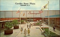 Bambergers, which is now Macy's, at the Garden State Plaza (which by the way was an outdoor walking mall)