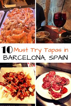 Heading to Barcelona, Spain? If so you will need to know the best tapas in Barcelona and where to find them. What to eat when you're in town. Barcelona Food, Barcelona Travel, Barcelona Restaurants, Barcelona Vacation, Visit Barcelona, Ibiza, Best Tapas, Tapas Restaurant, Spanish Food