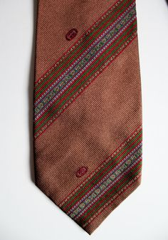Mens Ties Gucci Silk Necktie Vintage Mens Designer by GoldDaisy, $30.00