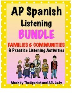 ap spanish essay prompts The ap spanish language and culture course and exam description  writing:  email reply (1 prompt) presentational writing: persuasive essay (1 prompt).