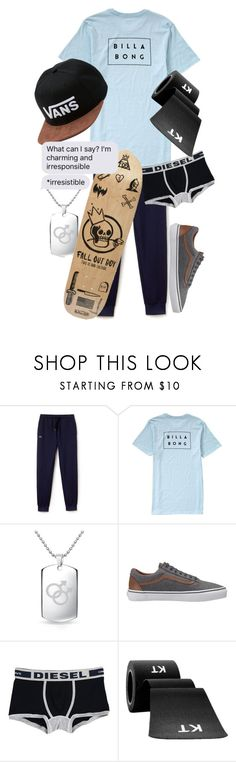 """.:shaking hands run through my hair, my fears, where do i go from here:."" by dontfallasleepatthehelmm on Polyvore featuring Lacoste, Billabong, Bling Jewelry, Vans and Diesel"
