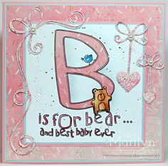 One Stamping Fool: B is for Bear!